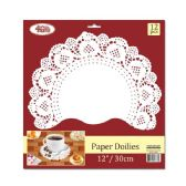 144 Units of Paper Doilie Twelve Count - Placemats and Doilies