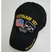 72 Units of Vietnam Veteran Hat [American/POW Flag]