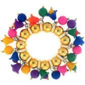 36 Units of Oriental brocade slap bracelets, - Bracelets
