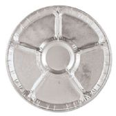 "100 Units of 12""Embossed lazy susan - Aluminum Pans"