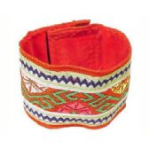 36 Units of Multi color patterned cloth bracelet - Bracelets