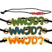 36 Units of Black elastic band bracelet - Bracelets