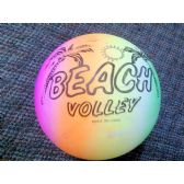 36 Units of Wholesale Rainbow color Beach Ball - Beach Toys