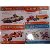 24 Units of Wholesale Super 3D Puzzle