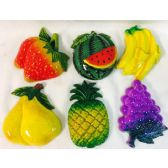 60 Units of Wholesale Refrigerator Magnets Lot Food Fruit Assorted