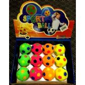 24 Units of Wholesale Soccer Ball Style TOY make squeaky sound