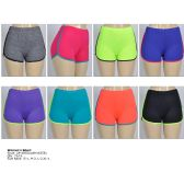 72 Units of Women's Jogging Shorts in Assorted Colors - Womens Active Wear