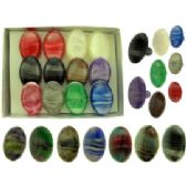 36 Units of Oval acrylic on acrylic bands Rings - Rings