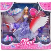 "12 Units of 12"" BENDABLE DOLL WITH 12"" PEGASUS & ACCESSORY IN WINDOW BOX - Dolls"