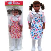 "6 Units of 30"" JASMINE DOLL IN PVC BAG, 3 ASSRT DRESS - Dolls"