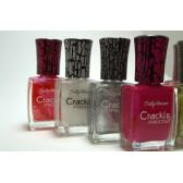 100 Units of Sally Hansen Crackle Overcoat Nail Polish