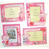 """72 Units of 3.5""""x5"""" Loving Bears Picture Frame"""