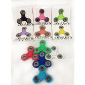 36 Units of Solid Color Fidget Spinners