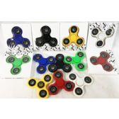 36 Units of Solid Color Fidget Spinners Assorted