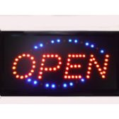 20 Units of Motion Light Open Sign - Signs & Flags