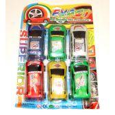 192 Units of 6 Cars Set