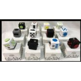 12 Units of Wholesale Fidget Cubes Assorted - Fidget Spinners