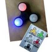 20 Units of Light Up Fidget Spinner--Asst Colors