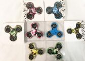 36 Units of Wholesale Camo Printed Fidget Spinners Assorted