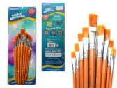144 Units of 9 Piece Artist Paint Brush - Paint, Brushes & Finger Paint