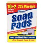 48 Units of Soap Pads Bonus Home Bright
