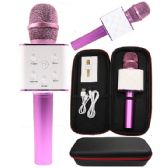 6 Units of KARAOKE MICROPHONE HOT PINK ONLY - Musical