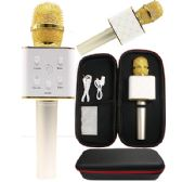 6 Units of KARAOKE MICROPHONE GOLD ONLY - Musical