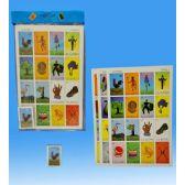 48 Units of Jumbo Loteria in PVC bag header card