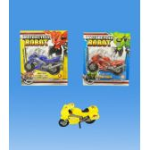 96 Units of Transformer motorcicle in blister card