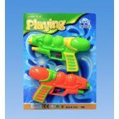 96 Units of 2 Piece Water gun tie on card - Water Guns