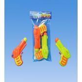 96 Units of 2 Piece Water gun in PVC bag header - Water Guns