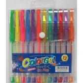 96 Units of 12pc. Gel Pen Set