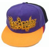72 Units of Glitter Los Angeles Cap - Hats With Sayings