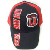 72 Units of Two Tone Los Angeles Cap - Hats With Sayings