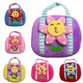 36 Units of Kids Flower Bag Assorted Color - Novelty Toys