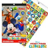 36 Units of Disney's Micky Mouse Clubhouse Sticker Pads