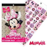 48 Units of DISNEY'S MINNIE'S BOW-TIQUE STICKER PADS