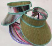 144 Units of Foldable Straw Hat