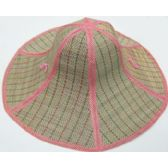 60 Units of XL Fold-able Straw Hat
