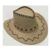 60 Units of Boy's Cowboy Hat