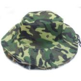 120 Units of Camouflage Turn Up Hat