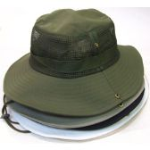 36 Units of Mesh Fisherman Hat