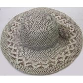 36 Units of Ladies' Jute Hat w/ Bow