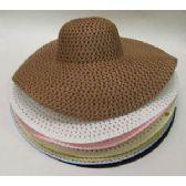 60 Units of Large Rim Ladies' Hat