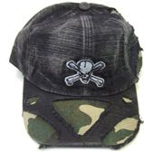 72 Units of Camouflage Peck Skull Cap