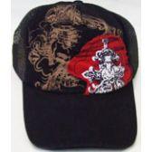 72 Units of Skull Mesh Back Cap