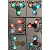 24 Units of Light Up Fidget Spinner Assorted - Fidget Spinners
