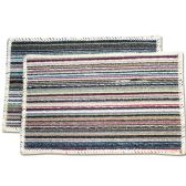 72 Units of Floor Mat Striped