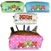 120 Units of OWL MAKEUP BAGS. - Cosmetic Cases