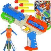 24 Units of 5 PIECE TRANSFORMING ROBOT DART GUNS. - Toy Weapons